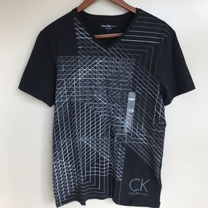 Calvin Klein Jeans black shirt.